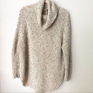 [Free People] Chunky Cowl Neck Oversized Sweater